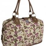 EyeCatchBags-Casablanca-Handtasche-aus-Leinen-mit-Blumenmuster-Tan-0